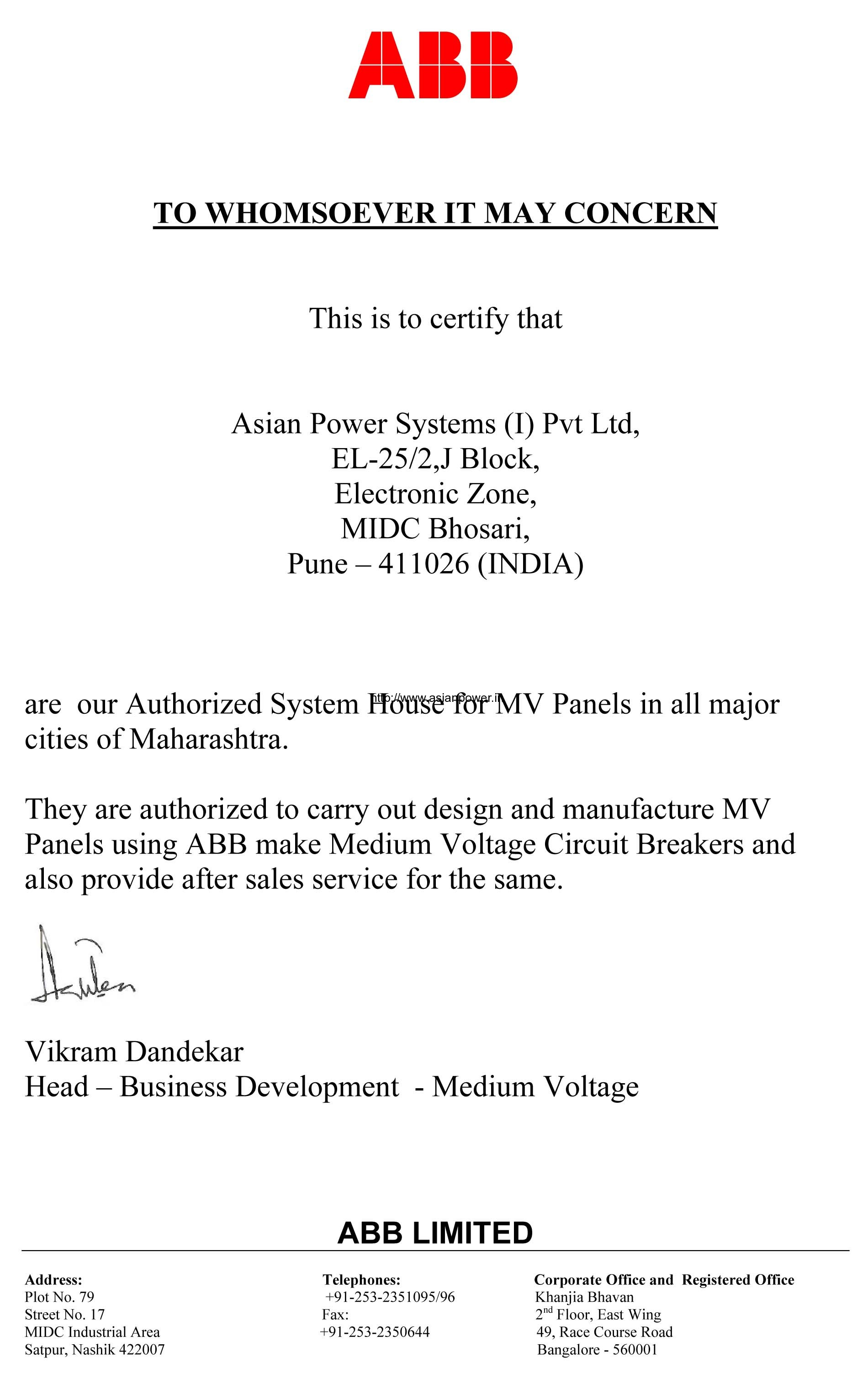 Why Us Asian Power Systems I Pvt Ltd