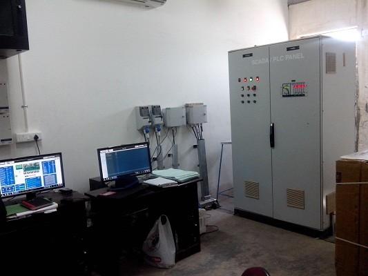 Scada cum PLC panel