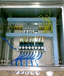 Solenoide Base Air/Liquid Purge Panel